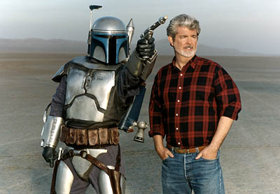 George Lucas is the ultimate neck beard. While I may not want to get giggity with George because of this, I would like to hate fuck him as a favor to all of my fellow nerds out there. You know, as punishment and all of that. George is totally a masochist, don't let him fool you for a minute.